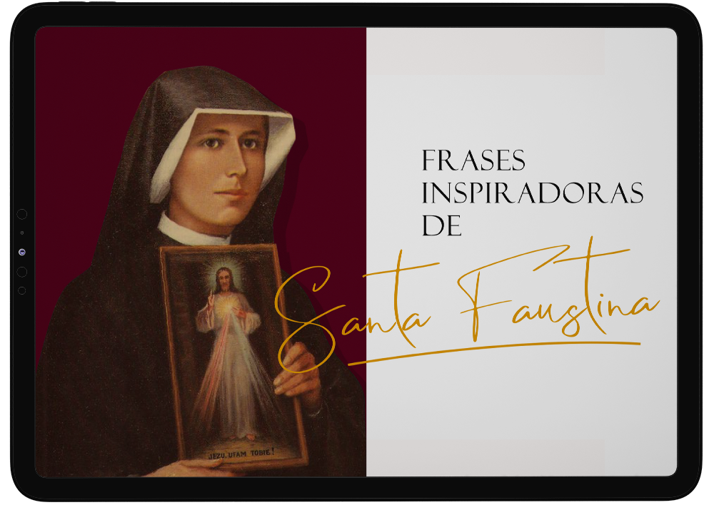 Inspire-se com os relatos incríveis da experiência que Santa Faustina teve com Jesus e compartilhou no seu diário. Neste eBook selecionamos algumas frases para que você conheça mais dessa bela história!