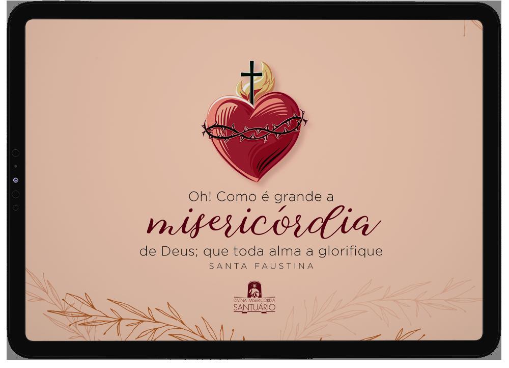 Santa Faustina, grande amiga de Jesus, é nossa inspiração na busca pela intimidade com Ele, para acolher a Sua vontade para nossas vidas. Então, que tal carregá-la conosco no dia a dia?