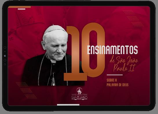 São João Paulo II nos ensinou tanto com sua vida. Um exemplo de santidade e anúncio do Evangelho. Assim, seu testemunho continua nos inspirando a viver a vontade divina seguindo a Palavra de Deus!