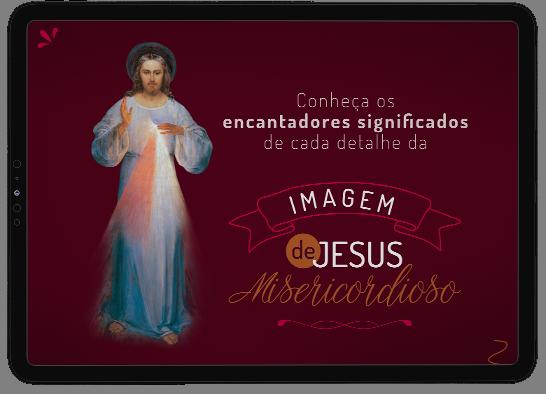 """A imagem de Jesus Misericordioso foi revelada por Jesus a Santa Faustina e, desde então, é venerada com muita devoção!   """"Por meio dessa Imagem concederei muitas graças às almas; que toda alma tenha, por isso, acesso a ela"""""""