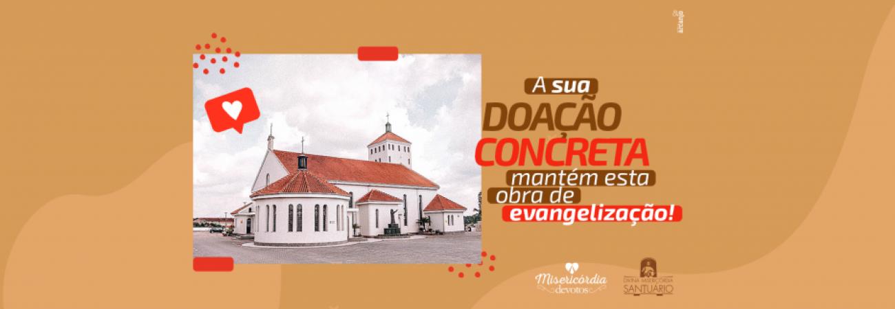Banner de blog - Campanha Digital (Ajude o Santuário)